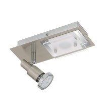 Briloner 2879-022 - LED loftsbelysning COMBINATA 1xGU10/3W + LED/5W/230V