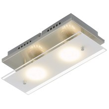 Briloner 3596-022 - LED loftsbelysning TELL 2xGU10/3W/230V