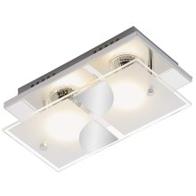 Briloner 3597-028 - LED loftsbelysning TOM 2xGU10/3W/230V