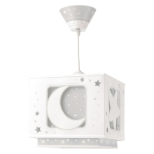 Dalber 63232E - Loftlampe til børn MOON LIGHT 1xE27/60W/230V