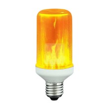 Dekorative LED pærer FLAME T60 E27/3W/230V