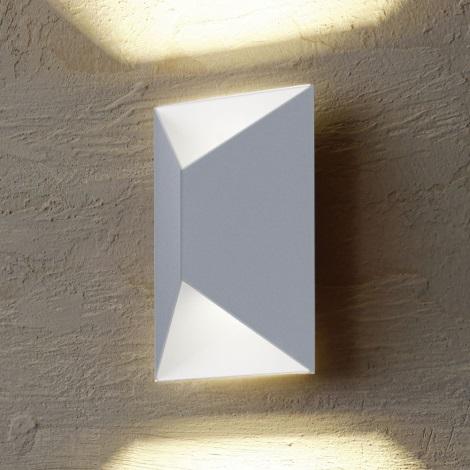 Eglo 54603 - Udendørs LED væglampe PREDAZZO 2xLED/2,5W/230V IP44