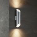 Eglo 54604 - Udendørs LED væglampe AGOLADA 2xLED/3,7W/230V IP44