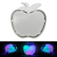 LED plug-in natlampe APPLE LED/0.4W/230V