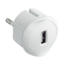 Legrand 50680 - USB plug-in adapter 230V/1,5A hvid