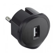 Legrand 50681 - USB plug-in adapter 230V/1,5A sort