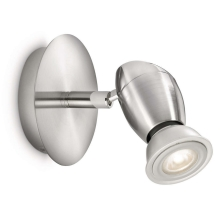Philips 55690/17/16 - LED spotlamper MYLIVING CHESTNUT 1xGU10/5,5W