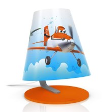 Philips 71764/53/26 - LED bordlampe for børn DISNEY PLANES LED/3W/230V