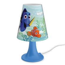 Philips 71795/90/16 - LED bordlampe for børn DISNEY DORY LED/2,3W/230V