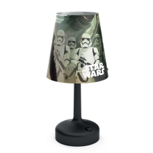 Philips 71796/30/P0 - LED bordlampe for børn DISNEY STAR WARS 1xLED/0,6W/3xAA