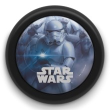 Philips 71924/30/P0 - LED børnelampe med touch STAR WARS LED/0,3W/2xAA