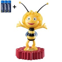 Varta 15635 - LED natlampe for børn MAYA THE BEE LED/3xAA